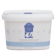COCONUT COTTON SCENTSY WASHER WHIFFS TUB 48oz.