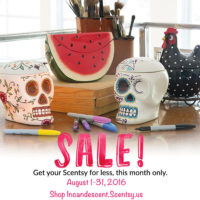 SCENTSY AUGUST 2016 SALE