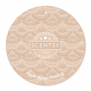 APPLE BUTTER FROSTING SCENT CIRCLE | Apple Butter Frosting Scentsy Scent Circle | Incandescent.Scentsy.us
