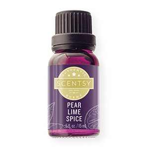 PEAR LIME SPICE SCENTSY 100% NATURAL OIL