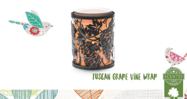 TUSCAN GRAPE VINE SCENTSY WRAP