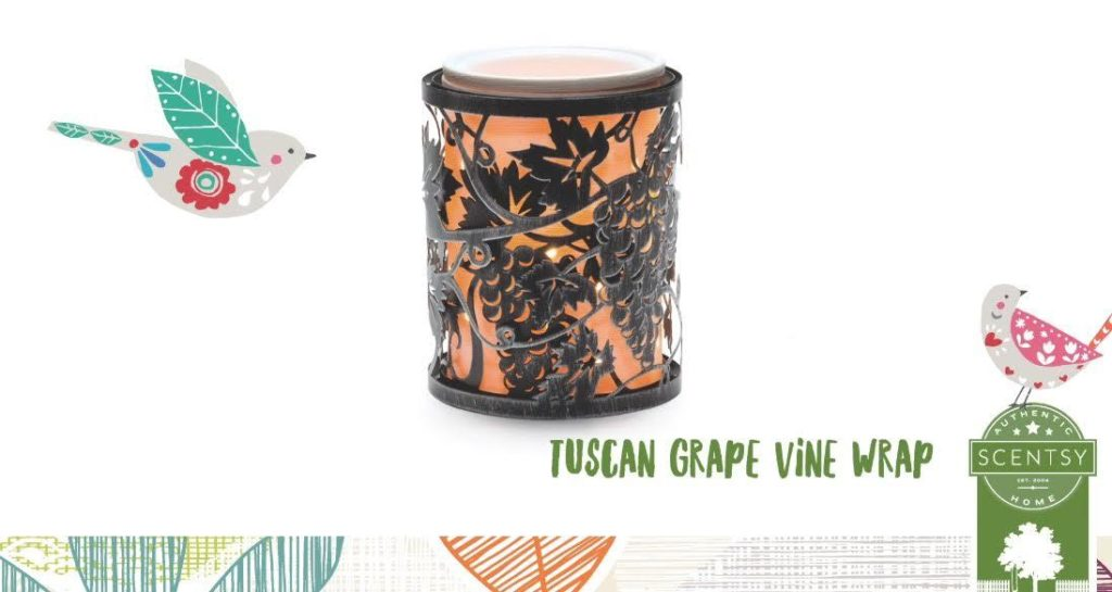Tuscan Grape Vine Scentsy Wrap Only New Scentsy Buy Online
