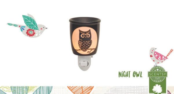 NIGHT OWL SCENTSY NIGHTLIGHT WARMER