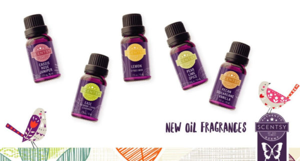 SCENTSY NEW OILS 2016
