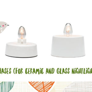 TABLETOP BASE FOR GLASS & CERAMIC SCENTSY NIGHTLIGHT WARMER