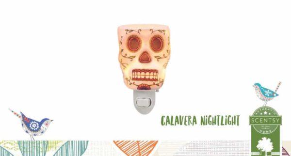 CALAVERA SCENTSY NIGHTLIGHT WARMER