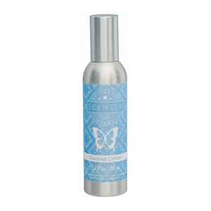 COCONUT COTTON SCENTSY ROOM SPRAY