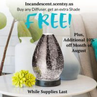AUGUST DIFFUSER SALE
