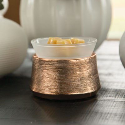 SCENTSY ETCHED COPPER WARMER