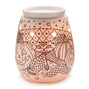 TRICK OR TREATS COLORING HALLOWEEN SCENTSY WARMER