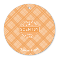 AUTUMN SUNSET SCENTSY SCENT CIRCLE
