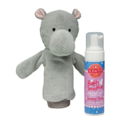 HALLA THE HIPPO SCENTSY SCRUBBY BUDDY + SCENTSY BATH SMOOTHIE