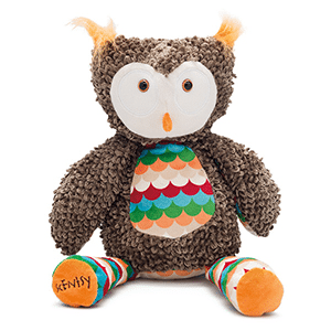 OLYMPIA THE OWL SCENTSY BUDDY HOLIDAY 2016