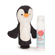 PERCY THE PENGUIN SCENTSY SCRUBBY BUDDY + SCENTSY BATH SMOOTHIE