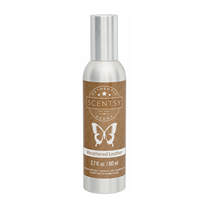 WEATHERED LEATHER SCENTSY ROOM SPRAY | Shop Scentsy | Incandescent.Scentsy.us