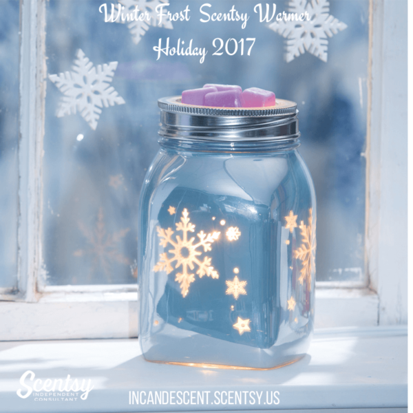 Winter Frost Scentsy Warmer Holiday 2017