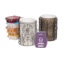 PERFECT SCENTSY BUNDLE - $40 SCENTSY WARMERS(SILHOUETTE) & SCENTSY BARS - COMBINE & SAVE