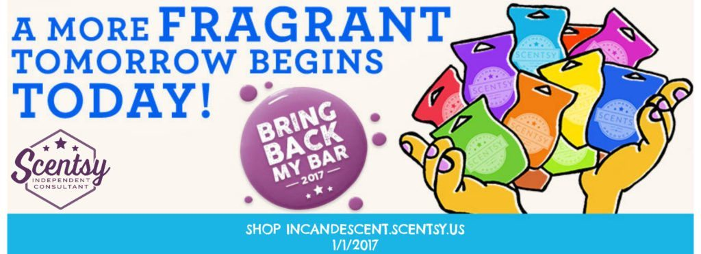 SCENTSY BRING BACK MY BAR 2017 JANUIARY | SCENTSY BRING BACK MY BAR 2017 WINNERS LIST - AVAILABLE January 1, 2017 | Scentsy® Online Store | Scentsy Warmers & Scents | Incandescent.Scentsy.us
