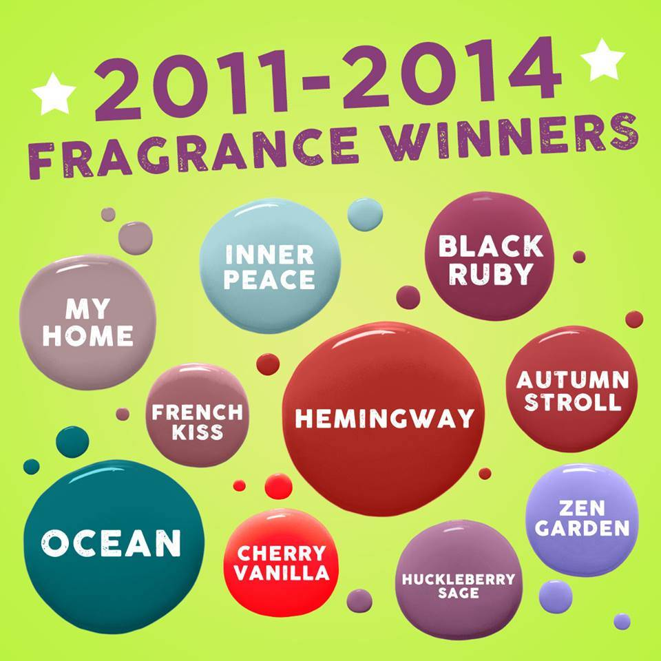 SCENTSY BRING BACK BMY BAR 2017 ROUND 2 WINNERS | SCENTSY BRING BACK MY BAR 2017 WINNERS LIST - AVAILABLE January 1, 2017 | Scentsy® Online Store | Scentsy Warmers & Scents | Incandescent.Scentsy.us