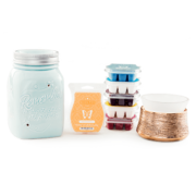 PERFECT SCENTSY BUNDLE - $35 SCENTSY WARMER, $30 WARMER & SCENTSY BARS - COMBINE & SAVE