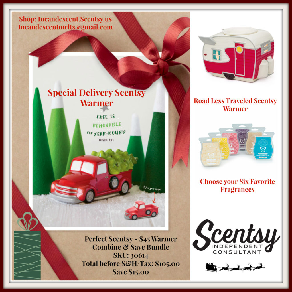 Scentsy warmers for christmas 2019 gift