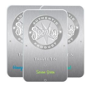 SCENTSY TRAVEL TINS 3 PACK - COMBINE & SAVE