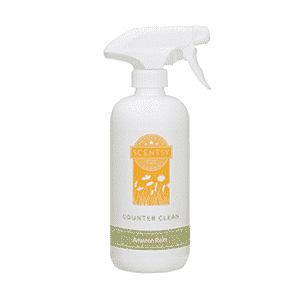 AMAZON RAIN SCENTSY COUNTER CLEAN