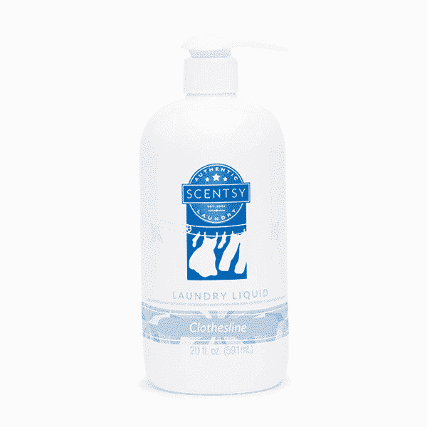 NEW! CLOTHESLINE SCENTSY LAUNDRY LIQUID | Shop Scentsy | Incandescent.Scentsy.us