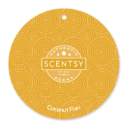 COCONUT FLAN SCENTSY SCENT CIRCLE