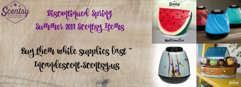 DISCONTINUED SCENTSY 2017 SPRING   Shop Scentsy Discontinued items for Spring Summer 2017   Scentsy® Online Store   Scentsy Warmers & Scents   Incandescent.Scentsy.us