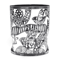 FOLK BIRD SCENTSY WRAP
