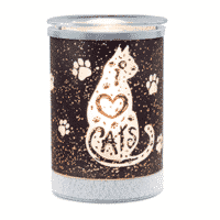 I HEART CATS LAMPSHADE SCENTSY WARMER