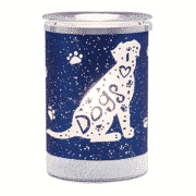 I HEART DOGS LAMPSHADE SCENTSY WARMER | DISCONTINUED