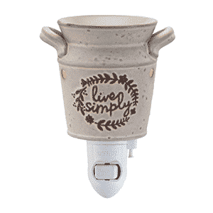 LIVE SIMPLY NIGHTLIGHT SCENTSY WARMER | Shop Scentsy | Incandescent.Scentsy.us