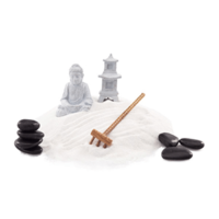 ZEN GARDEN DECORATION FOR MAKE A SCENE SCENTSY WARMER