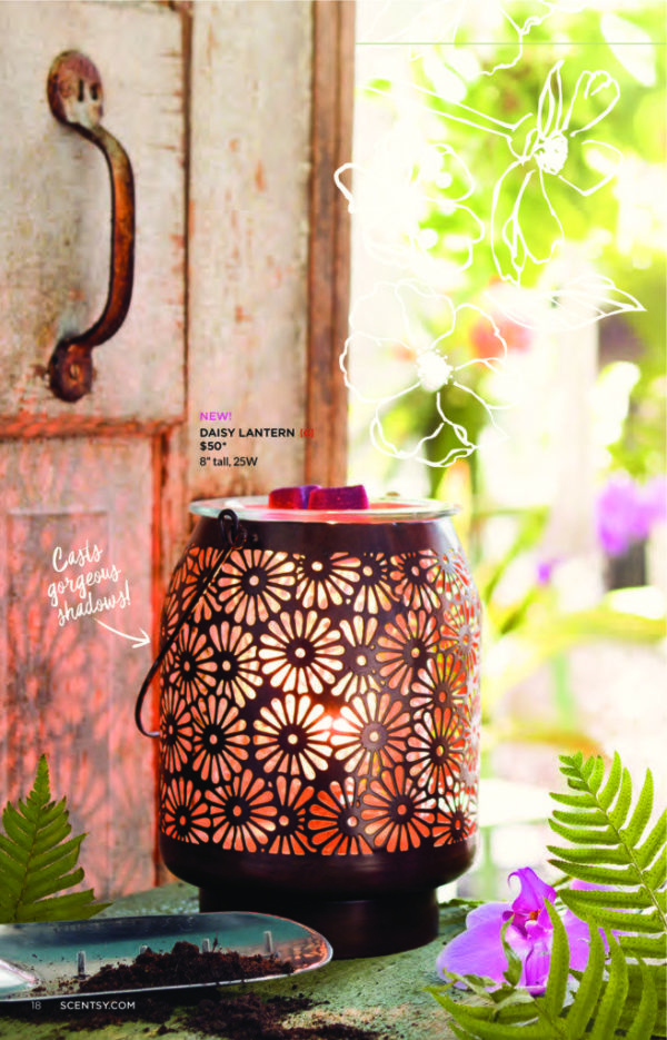 page-17   NEW! DAISY LANTERN SCENTSY WARMER   Shop Scentsy   Incandescent.Scentsy.us