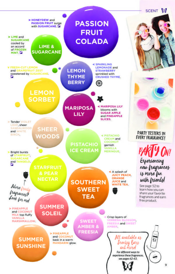 SCENTSY NEW SPRING RELEASES 2017