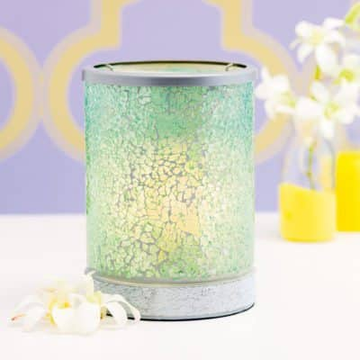 NEW! BLUE CRUSH LAMPSHADE SCENTSY WARMER