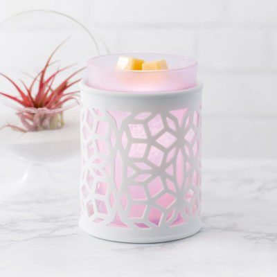 NEW! DARLING SCENTSY WARMER WITH PURPLE SLEEVE