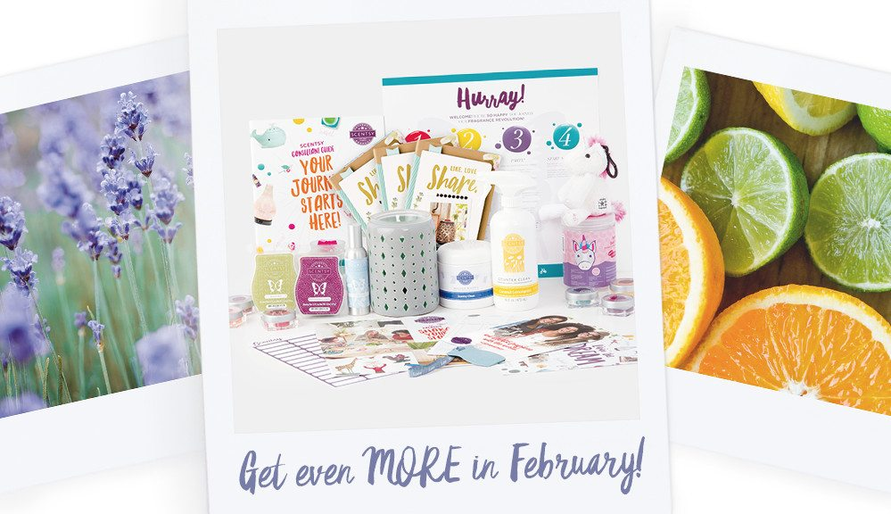 JOIN SCENTSY FEBRUARY 2017 ENHANCED KIT