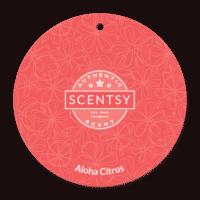 ALOHA CITRUS SCENTSY SCENT CIRCLE