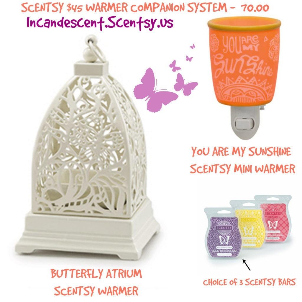 BUTTERFLY ATRIUM SCENTSY SYSTEM | SCENTSY WARMER & NIGHTLIGHT COMBO IDEAS...