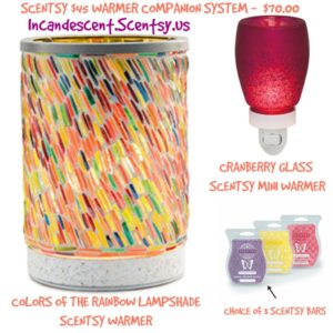 COLORS OF THE RAINBOW SCENTSY SYSTEM | SCENTSY WARMER & NIGHTLIGHT COMBO IDEAS...