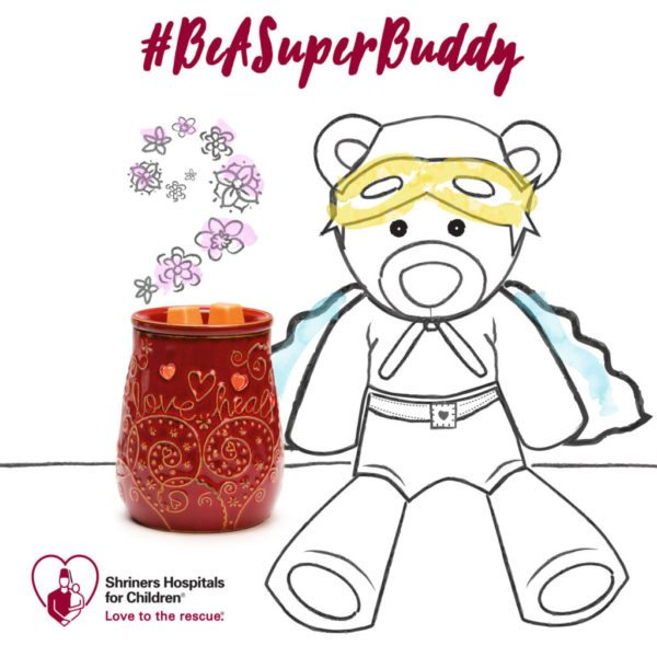 SCENTSY SHRINERS HOSPITALS FOR CHILDREN CAUSE PRODUCTS