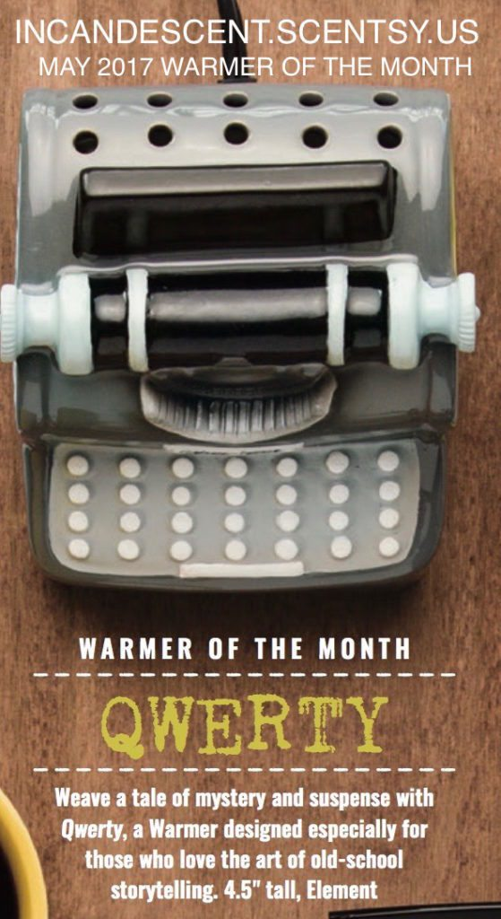 QWERTY TYPEWRITER SCENTSY WARMER