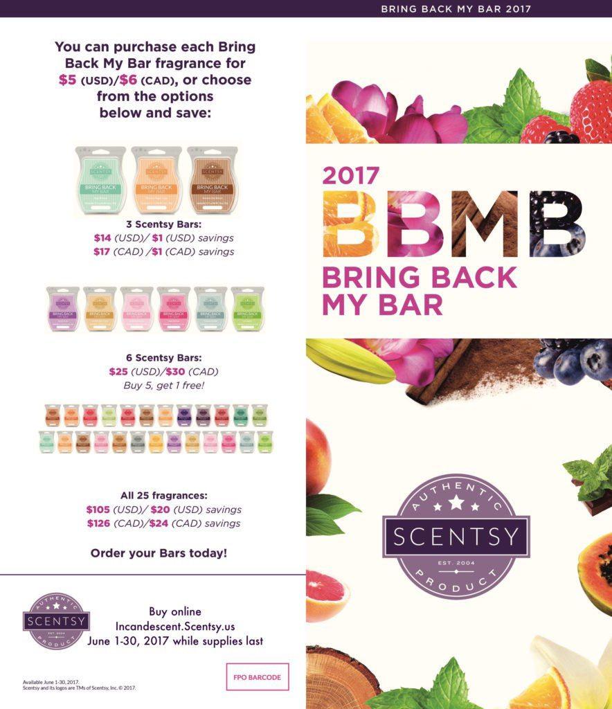 Bring Back My Bar Summer 2017 - 1 | SCENTSY BRING BACK MY BAR WINNERS LIST JUNE 2017