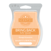 ORANGE DREAMSICLE BRING BACK MY SCENTSY BAR