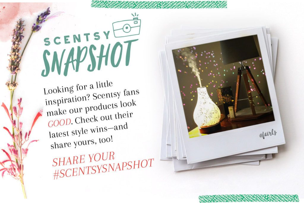 SCENTSY SNAPSHOT PHOTOS | Scentsy August 2017 Warmer & Scent of the Month News | Scentsy® Online Store | Scentsy Warmers & Scents | Incandescent.Scentsy.us
