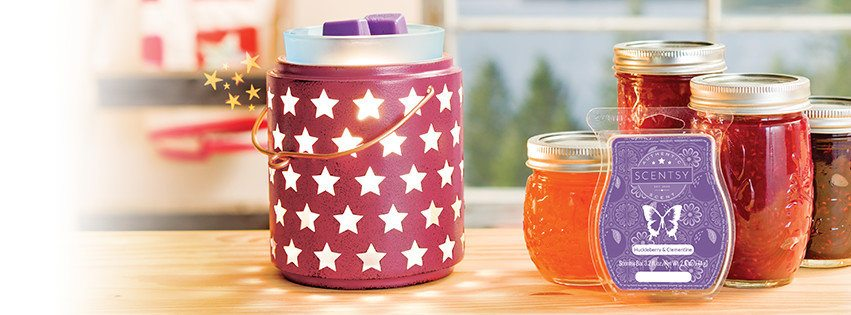 SCENTSY JUNE 2017 WARMER AND SCENT OF THE MONTH