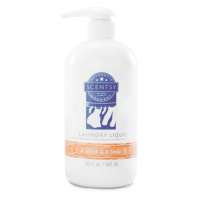A WINK & A SMILE SCENTSY LAUNDRY LIQUID